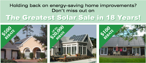 Florida Solar Rebates and Incentives – Solar rebates available in Florida for Solar Water Heating, Solar PV Electric, and Solar Pool Heaters.